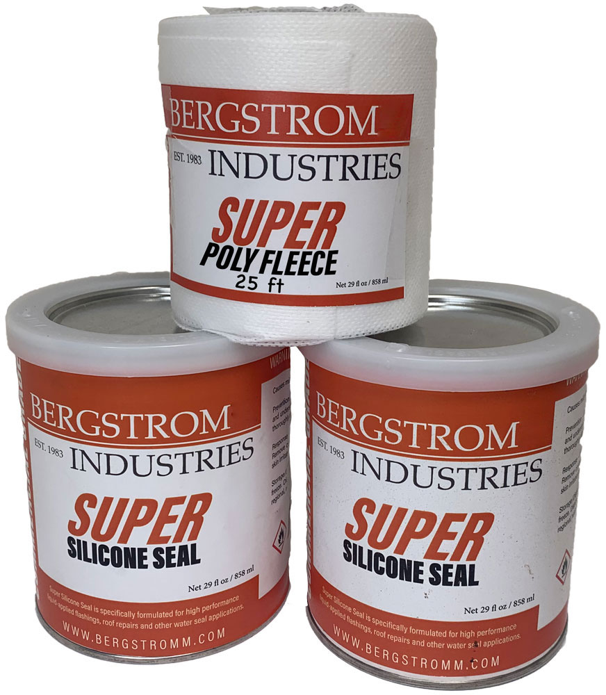 Super Silicone Seal Roof Repair Kit Flat Roof Repair Kits