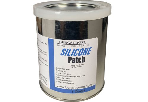 Silicone Patch for skylights, Cement cracks, rusted holes
